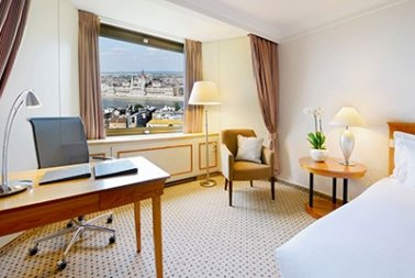 King Deluxe Room with Danube river view