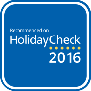 Recommended on Holiday Check 2016