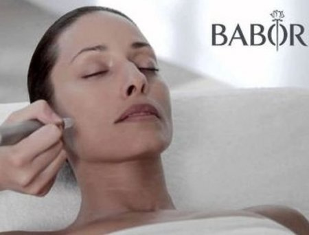 Babor Facial With Ultrasound and Rock Crystals