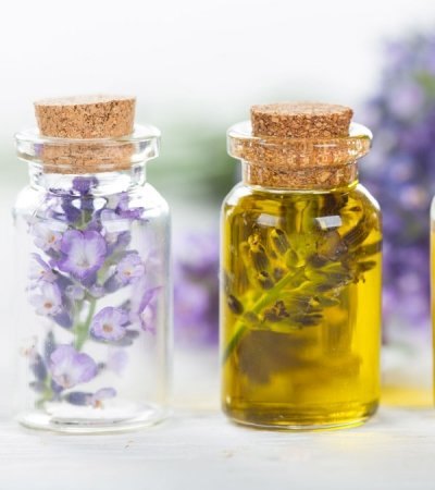 Lavender Oil Massage