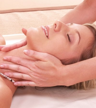 Facial lymph massage