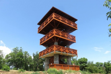 "Tihany ""Guard Tower"" lookout point"