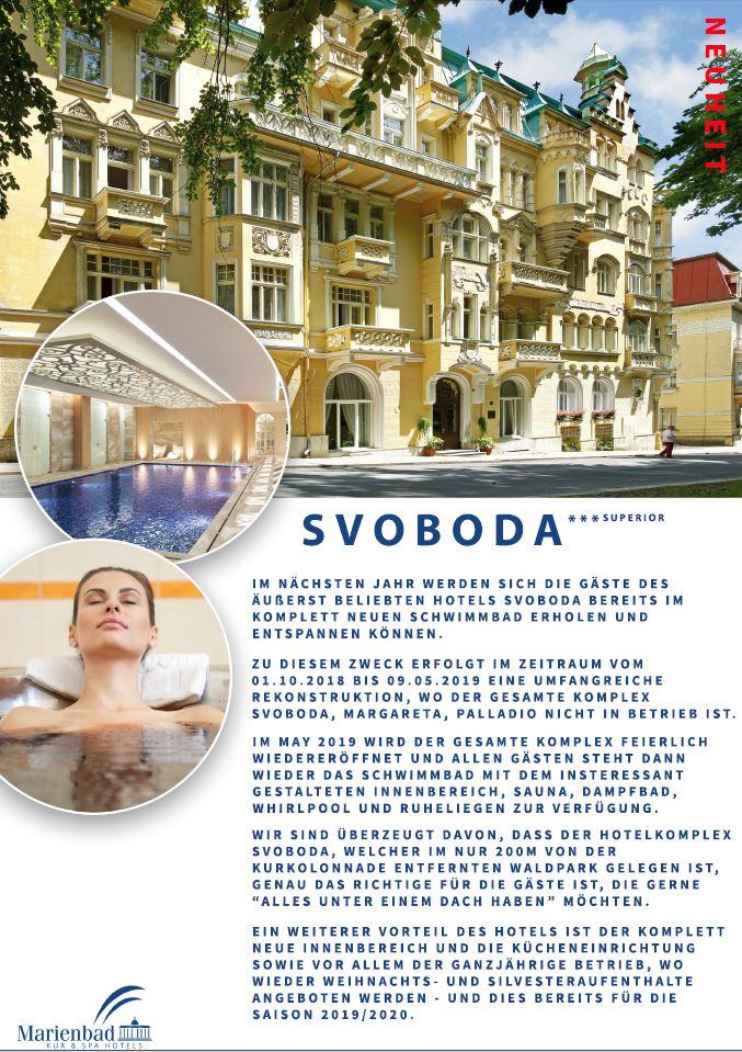 Spa Hotel Svoboda***, Mariánské Lázně (Marienbad)