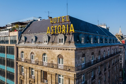 Danubius Hotel Astoria City Center****, four stars hotel in Budapest