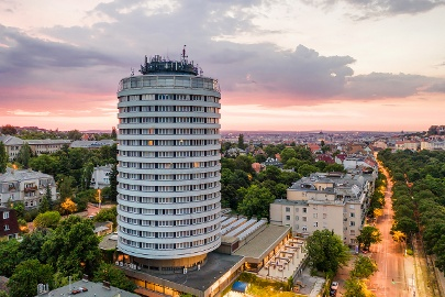 Hotel Budapest accommodation in Buda with panorama