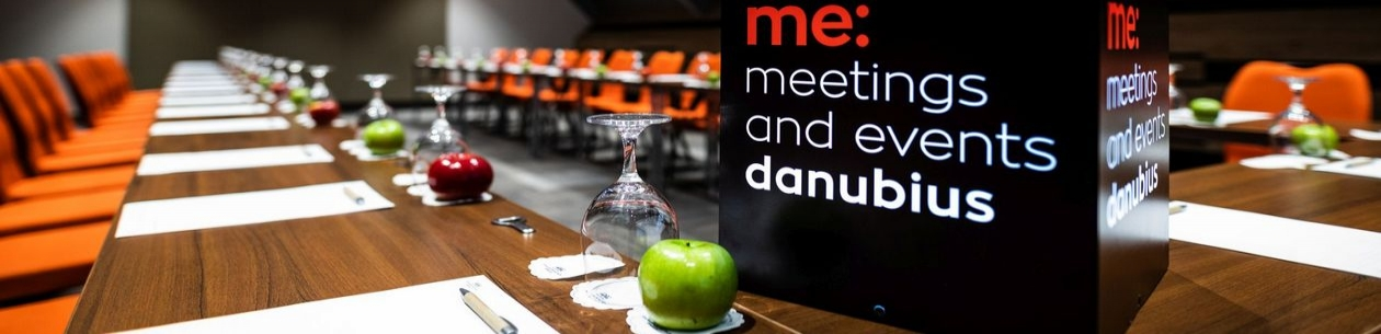 Danubius ME: meetings and events